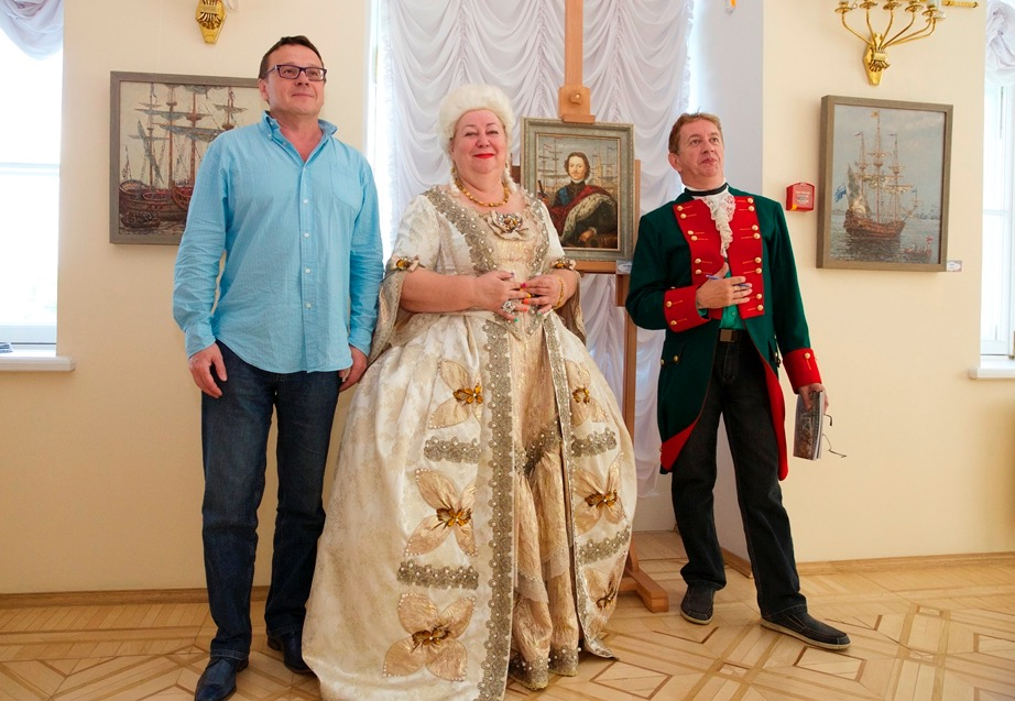 "Participation in the special program of the Museum ""Peterhof"". June, 9 2014"