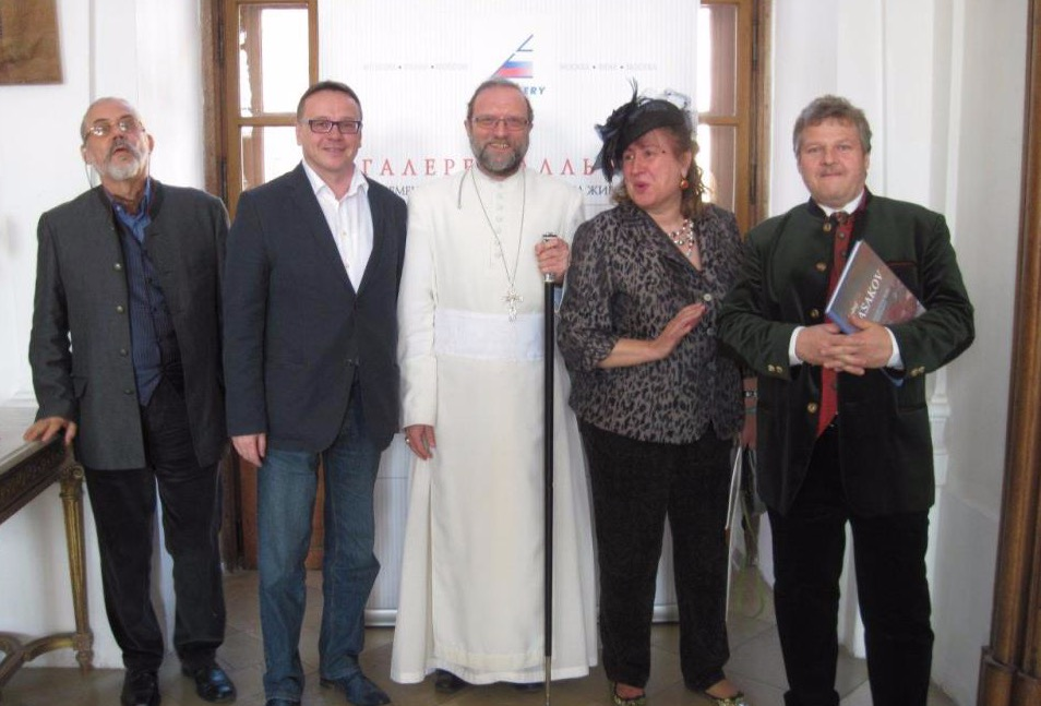 Allrus Gallery co-hosted an exhibition in Riegersburg castle (Lower Austria). April 30, 2014.