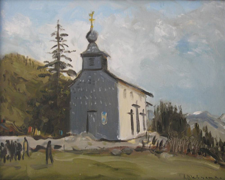 A Church in the Mountains