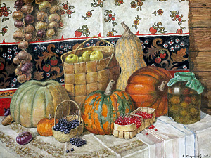 Still-life with Pumpkins
