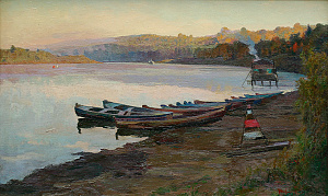Morning on the Oka River